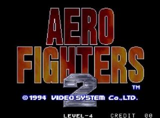 Screenshot Thumbnail / Media File 1 for Aero Fighters 2 (1994)(SNK)(Jp-US)[!][Sonic Wings 2]